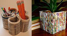 Reciclaje creativo para niños: Fotos de actividades