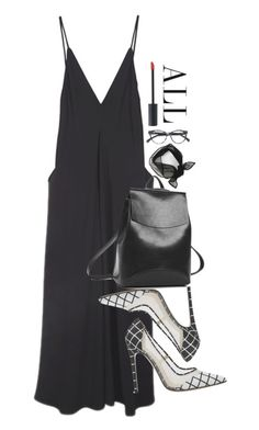 """""""Untitled #1369"""" by edendisplay ❤ liked on Polyvore featuring Christopher Esber and Christian Dior"""