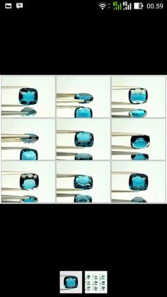 natural london blue topaz 6.22ct