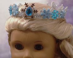 Elsa's Crown for American Girl by MyGirlClothingCo on Etsy, $12.00