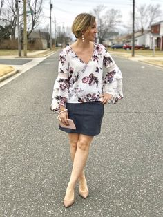 3 Ways to Wear This Season's Prettiest Floral Top • Fine Wine and Tater Tots