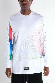 Rainbow Chart Tee, Machus, HBA, HOOD BY AIR, KTZ, Skingraft, Kayne West, Street Fashion, PDX men's store, Portland Men's clothing – machus