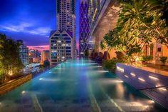 ★★★★★ Eastin Grand Hotel Sathorn #Pool #Sathorn #Bangkok