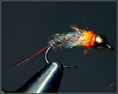 "Hook: BL ""P""#12   Thread: Black 8/0   Tail:  Brown cock   Body : Gray Heron , copper wire  , spc, dub. hends cod.91 and 94.   Thorax: Hends..."