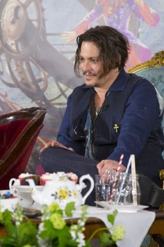 Johnny Depp at Alice Through the Looking Glass (2016)