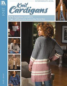Free Knitting Patterns For Women, Sweater Knitting Patterns, Hand Knitting, Knitting Needles, Cardigan Pattern, Knit Cardigan, Cardigan Sweaters, Aran Weight Yarn, Quick Knits