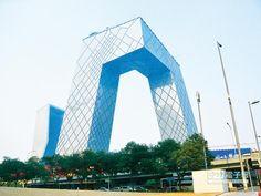 ▲央視新樓獲全球最佳高層建築獎。(CFP)