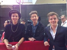 Kian, Ricky, and Connor yess please an thank you... To bad JC isn't in this pic and the other O2L BOYS