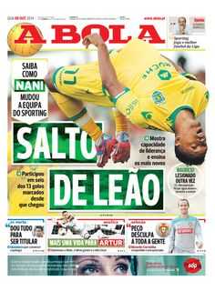 SPORTS And More: #Portugal #SportingCP #Nani just change all the Sp...