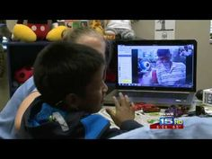 Boy hears for the first time with cochlear implant and breaks into tears after talking to his family in Guatemala via skype