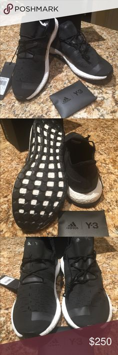 adidas Y-3 by Adidas New bought at Barnys NY, beautiful black super comfy shoes. Shoes Athletic Shoes