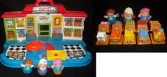 Fisher Price Little People Shop'n Learn Market