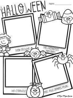 Voici une petite feuille d'activité pour l'Halloween. Les élèves peuvent y écrire ou y dessiner ce qu'ils aiment de cette fête. Photo Halloween, Halloween Books For Kids, Theme Halloween, Samhain Halloween, Halloween Activities For Kids, Halloween Crafts, Holiday Activities, French Celebrations, Kindergarten