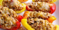 Koolhydraatarme recepten - Deze smaakvolle paprika nacho bites zijn enorm lekker! Met alleen maar pure ingrediënten zijn deze bites sappig en smaakvol.