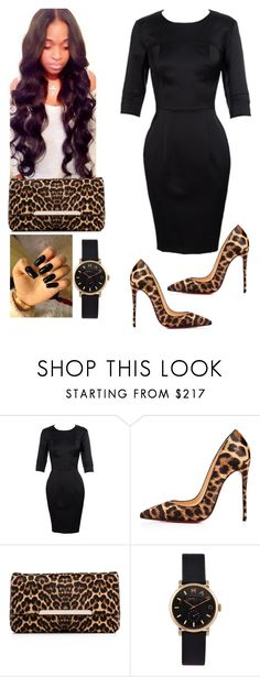"""""""Wake Service!!#BishopJNeaulHaynes!!!"""" by cogic-fashion ❤ liked on Polyvore featuring Christian Louboutin and Marc by Marc Jacobs"""