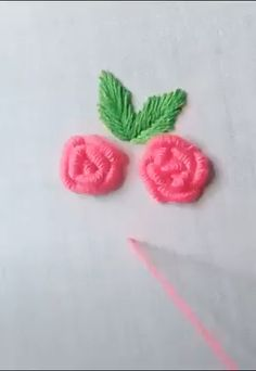 Crewel Embroidery - Long & Short as Soft Shading in Colors - Embroidery Patterns Hand Embroidery Videos, Hand Work Embroidery, Creative Embroidery, Hand Embroidery Stitches, Crewel Embroidery, Hand Embroidery Designs, Embroidery Techniques, Ribbon Embroidery, Cross Stitch Embroidery