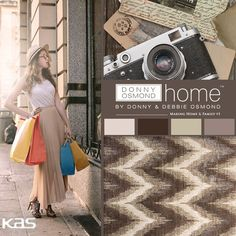 We totally dig this #rug from the Donny Osmond Home collection. Where would you put it in your #home? #ColorWithKas