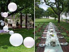 { Picnic Wedding}- The Outdoor Set ups