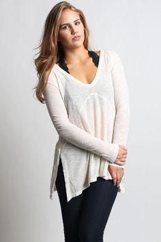 Lush Ribbed Sweater
