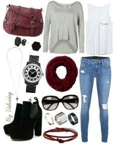 Super cute, except the shoes. I definitely wouldnt wear heels with this outfit