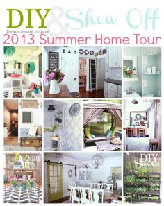 DIYShowOff Summer Home Tour