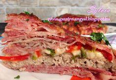 Bacontorta fűszeres darált hússal