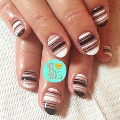 THE KEEP IT CLEAN NAIL for @courtneyfruitfly! #nailswag #nails #nailart #nailartclub #swag #gelnail #LA (at NAILSWAG@GMAIL.COM)