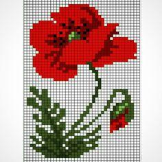Cross Stitch Alphabet, Cross Stitch Patterns, Crochet Patterns, Cross Stitch Gallery, Christmas Embroidery Patterns, Bargello, Cross Stitch Flowers, Poppies, Needlework