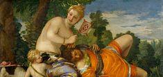 Annibale Carracci.  Venus, Adonis and Cupid