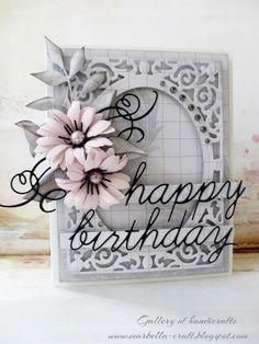 Gallery of handicrafts: happy birthday