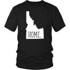 Proud to be from Idaho? Sweet Home Idaho State t-shirt is perfect for you. Show off your Idaho pride with an amazing home state t-shirt!