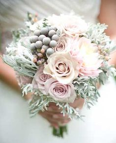 beautiful pinks and silver grays