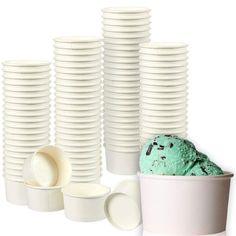 Shop for Juvale Ice Cream Sundae Cups - Disposable Paper Frozen Dessert Bowls. Bulk Ice Cream, Ice Cream Party, Cream Cups, Yogurt Dessert, Dessert Bowls, Yogurt Bowl, Yogurt Parfait, Ice Cream Social, Cold Meals