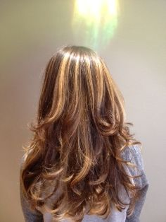 Ombre highlights by Darby at Copper River