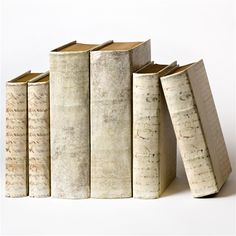 Really like these.  I wonder if they are fake books to hold small treasures?