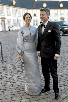 Queen Margrethe's 75th Birthday Celebrations - Dinner at Fredensborg Palace 4/16/15
