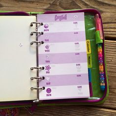An adorable planner (Lisa Frank FTW) with completely impractical stationery. | 22 Back-To-School Products Every '90s Girl Absolutely Needed