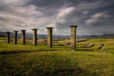 Ciudad fortificada de Juliobriga. #Cantabria #Spain #Travel