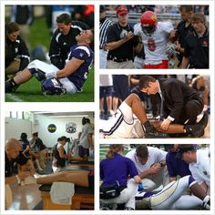 Athletic trainers-- the team behind the team
