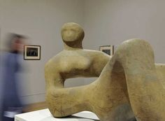 Viewers in Henry Moore exhibition, Tate Britain, Spring 2010 Tate ©️️ The Henry Moore Foundation. All Rights Reserved, DACS 2011 Tate Modern Gallery, Henry Moore Sculptures, Key Stage 2, Tate Britain, British Museum, Statue, Paper, Artist, Foundation