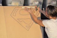 Captain America Wall Art, Part three of Benson's Room!