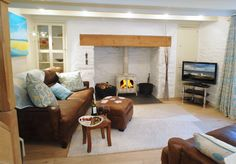 Luxury self-catering cottage Perranporth, self-catering luxury cottage Perranporth, Mackerel Skies in Cornwall