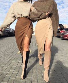Kamelrock, warmer brauner Rock Source by inceguel daughter fall outfits Look Fashion, Fashion Models, Winter Fashion, Womens Fashion, Fashion Trends, Nordic Fashion, Fashion Lookbook, Unique Fashion, Street Style Fashion