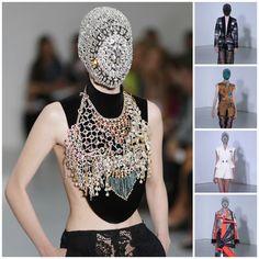 """I am secretly rich, she said""  Maison Martin Margiela AW12 at Haute Couture Fashion Week | Catwalk Queen  #fashion"