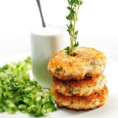 Light Salmon Fritters