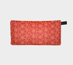 Tomato Pattern, Pencil Case by Imagology Design. Our pencil cases can be used for anything. Measures by has a YKK zipper and a keychain tab Artist Canvas, Printing On Fabric, Fun Stuff, Pencil, Artwork, Prints, Pattern, Design, Fun Things