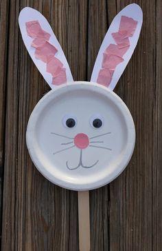 plastik tabaktan tavşan yapımı - Google'da Ara
