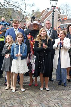 Dutch Royal Family celebrate Kingsday 2016 in Zwolle