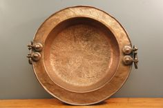 Very Large Copper Plate.