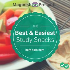 The Best (and Easiest) Study Snacks Lunch Snacks, Easy Snacks, Healthy Snacks, Gre Prep, Study Snacks, Brain Food, Pie Dish, Yummy Treats, The Best